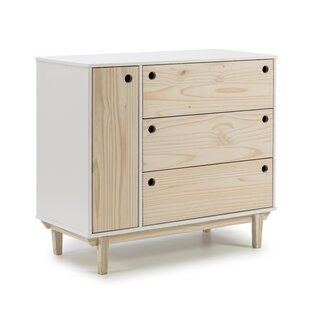 Lexy 3 Drawer Chest By Ebern Designs