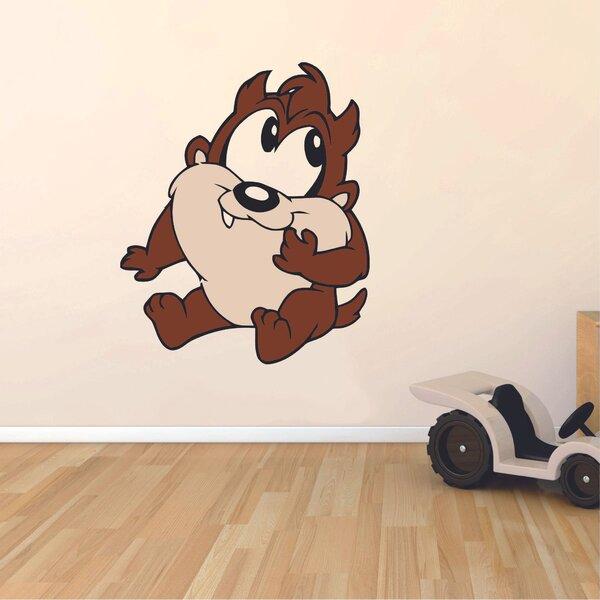 Design With Vinyl Tasmanian Devil Looney Tunes Cartoon Character Wall Decal Wayfair