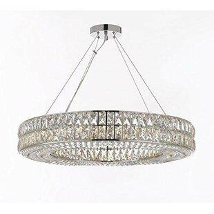 Estrella Ring 14-Light Crystal Chandelier..
