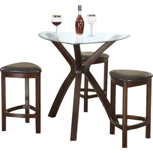 burnell 4 piece counter height pub table set