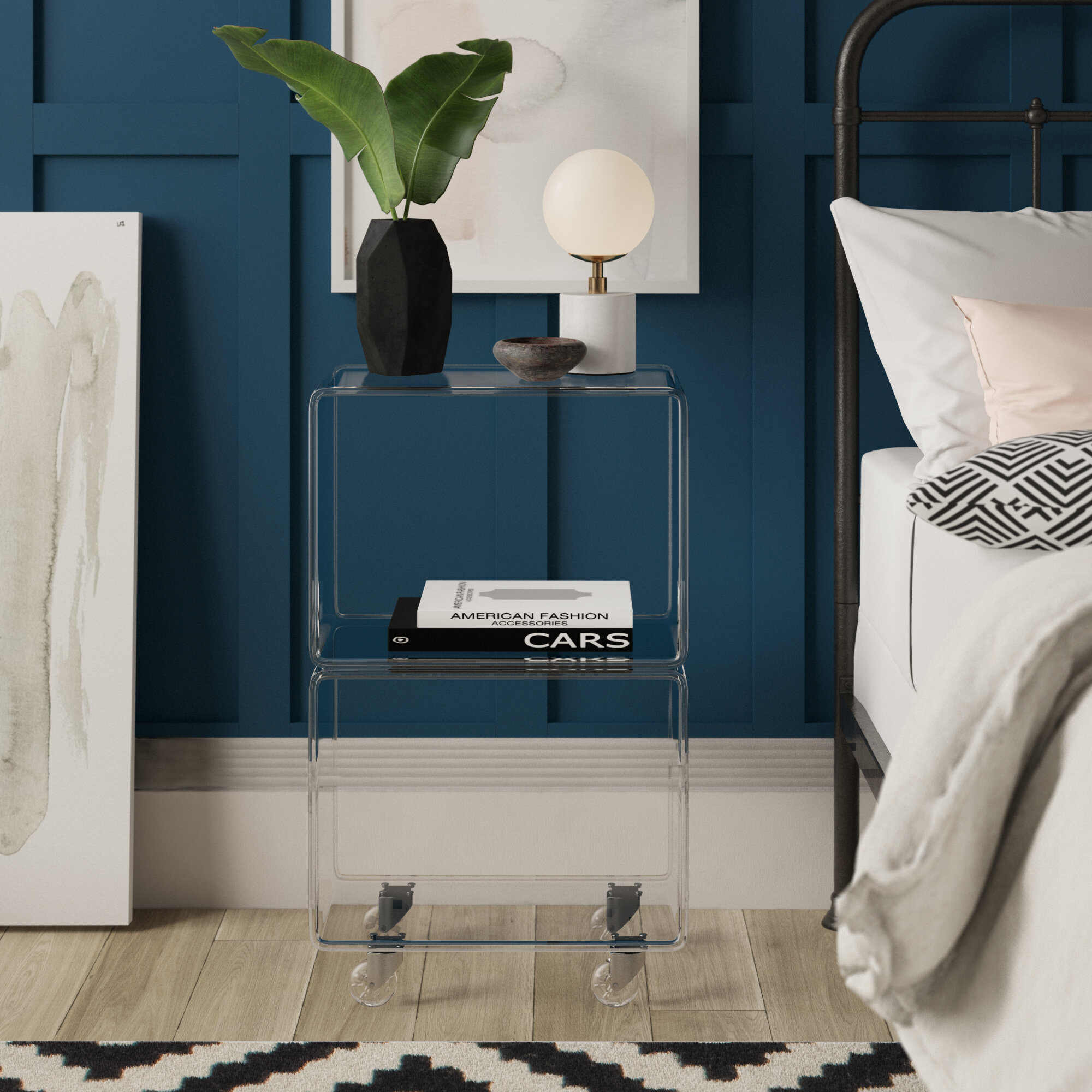 Channing End Table With Storage Reviews Joss Main