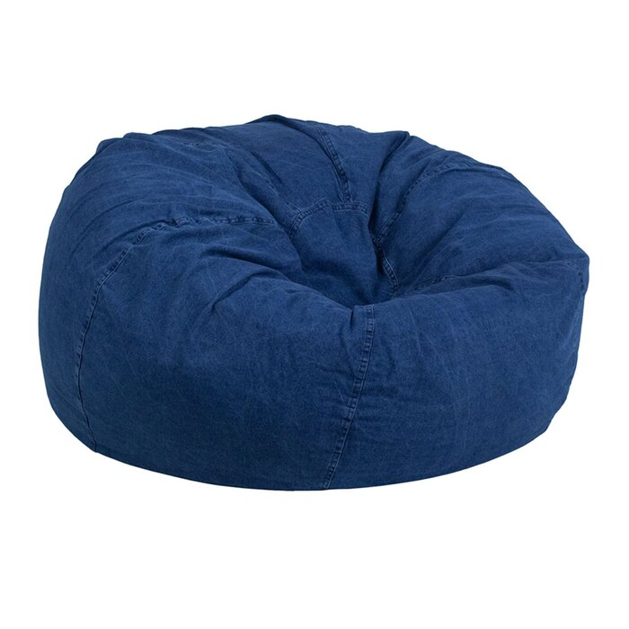 Bedroom Cotton Large Bean Bag Chair