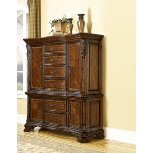 Brussels 6 Drawer Combo Dresser by Astoria Grand