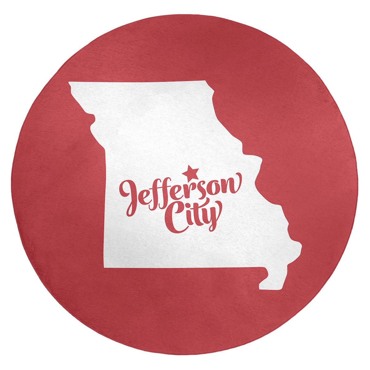East Urban Home Jefferson City Missouri Poly Chenille Rug Wayfair