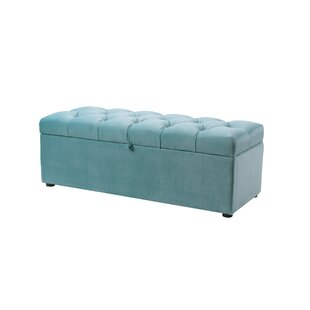 Everly Quinn Luyen Tufted Upholstered Storage Bedroom Bench