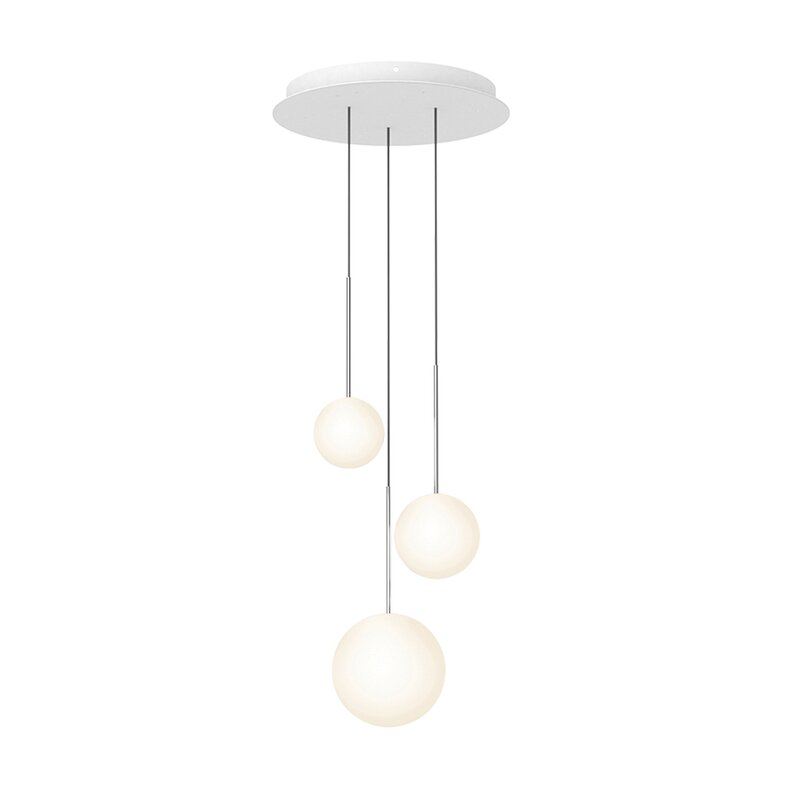 Pablo Designs Bola 3 Light Cluster Globe Led Pendant Perigold