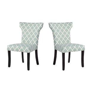 Charlton Home Danville Upholstered Dining Chair (Set of 2)