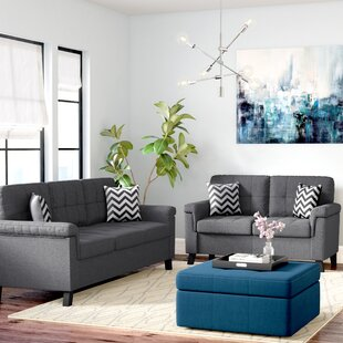 Low priced Whitmore 2 Piece Living Room Set by Ebern Designs Reviews (2019) & Buyer's Guide