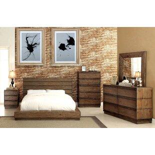 petra platform configurable bedroom set - Industrial Bedroom Furniture