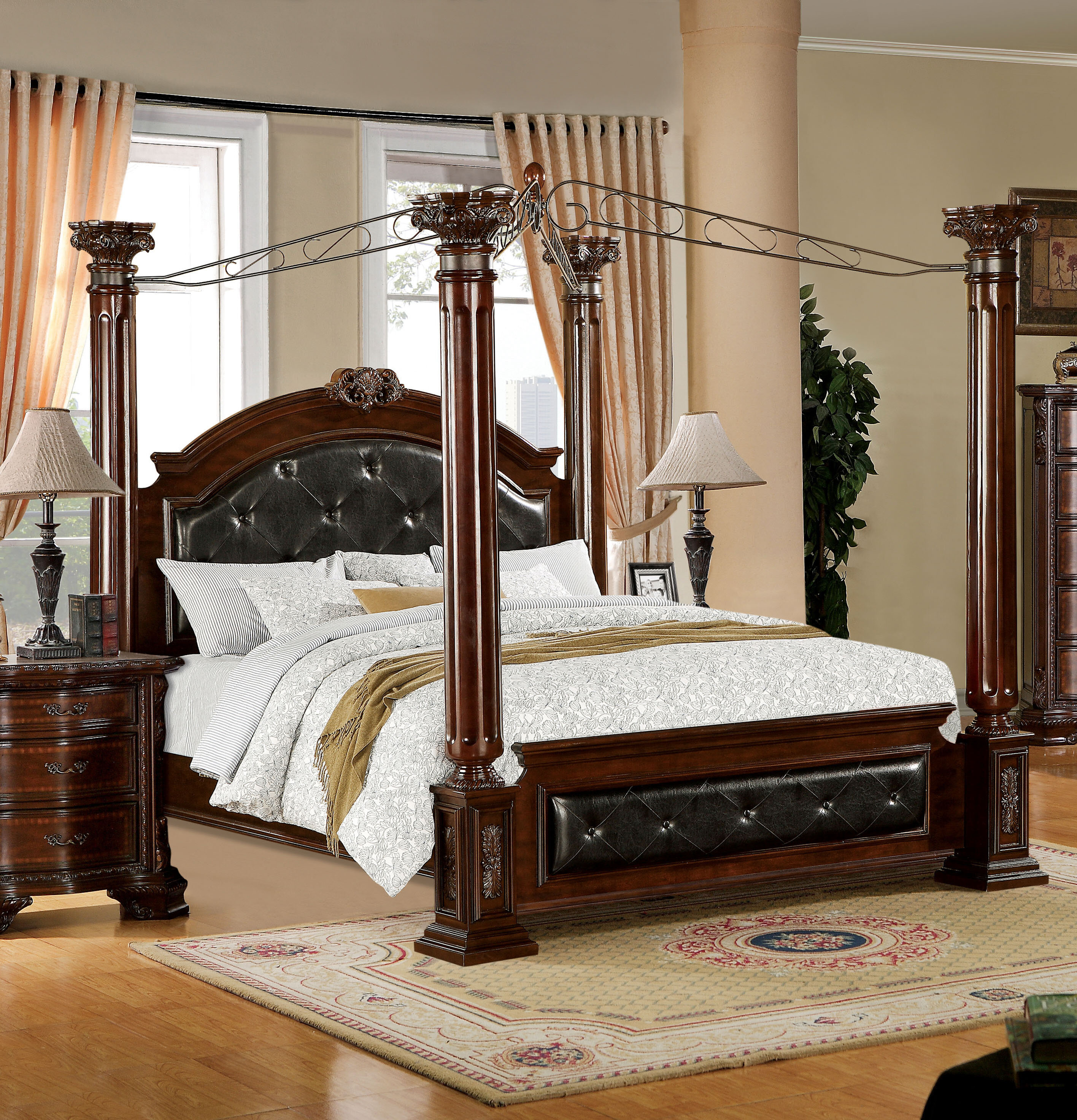 - Astoria Grand Edmore Upholstered Canopy Bed & Reviews Wayfair