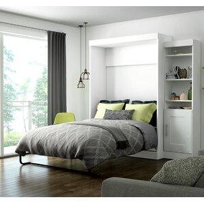 Beecroft Murphy Bed With Bookcase by Latitude Run