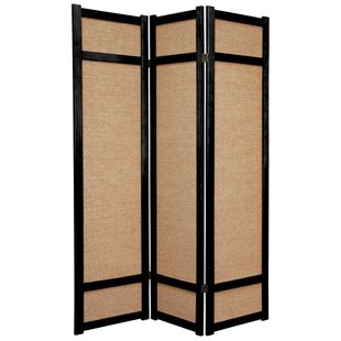 Online Reviews Clarke Shoji 3 Panel Room Divider By World Menagerie