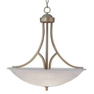 Charlton Home Bunton 3-Light Bowl Pendant