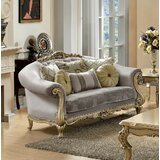 Pavone 32 Rolled Arm Loveseat by Astoria Grand