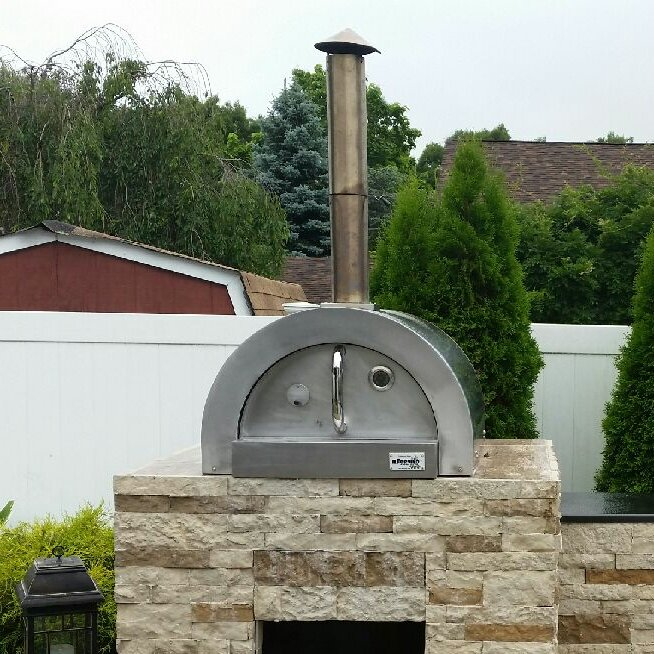Ilfornino F Series Mini Basic Stainless Steel Wood Fired Pizza Oven Reviews Wayfair