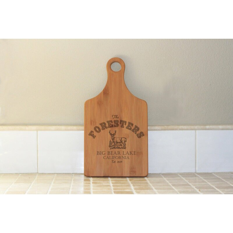 Stamp Out Inc Bamboo Cutting Board Wayfair