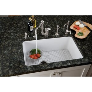 Rohl Single Bowl Undermount Kitchen Sink