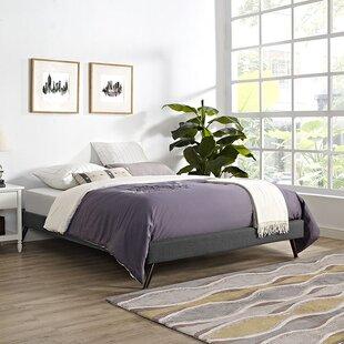 Zutphen Upholstered Platform Bed by Mistana