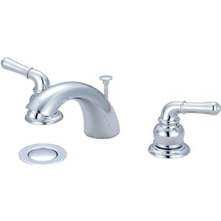 Standard Bathroom Faucet with Drain Assembly