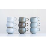 Kimberly Rounded 3 Piece Coffee Mug Set