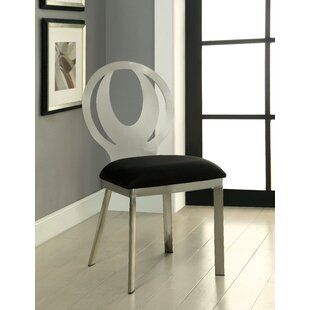 Atami Upholstered Dining Chair Set of 2 by Orren Ellis