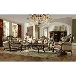 Mccloud 3 Piece Configurable Living Room Set