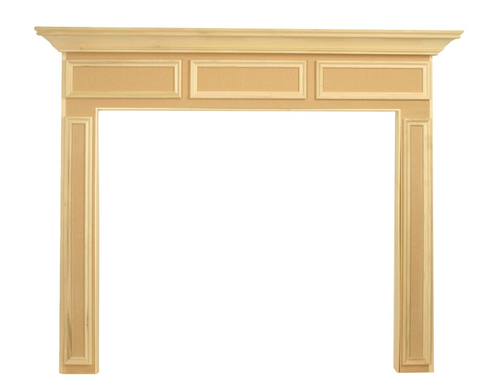 Nice Wood Fireplace Mantel Surround Part - 10: Default_name