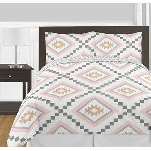 Sweet Jojo Designs Aztec 3 Piece Full/Queen Reversible Comforter Set