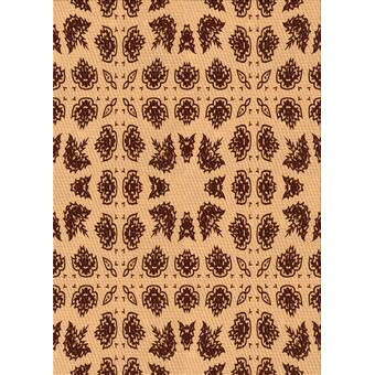 Bloomsbury Market Nothills Animal Print Handmade Flatweave Wool Orange Yellow Area Rug Wayfair