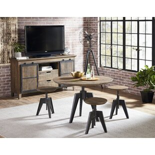 Naquin 4 Piece Adjustable Pub Table Set