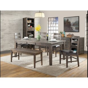 Burkhalter 6 Piece Dining Set Union Rustic