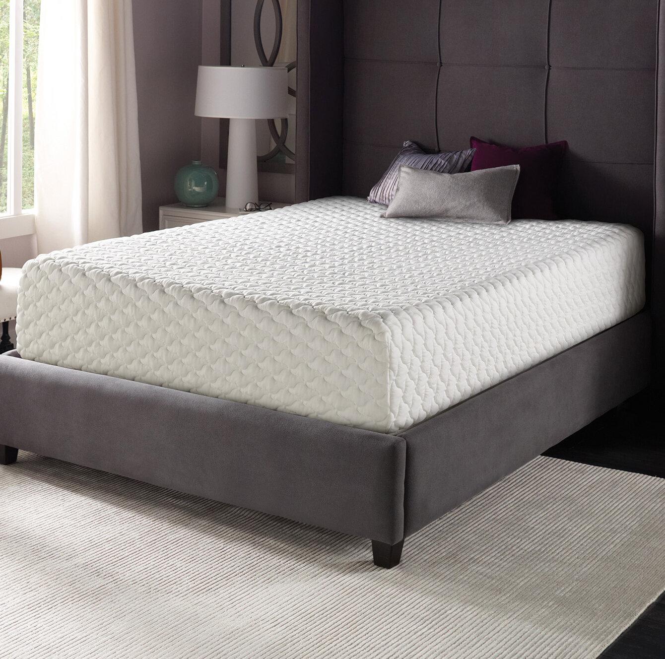 Simmons Beautyrest Beautyrest 12 Medium Gel Memory Foam Mattress