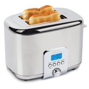 2 Slice Digital Stainless Steel Toaster