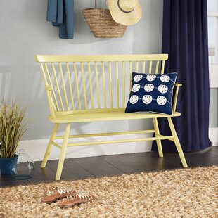 Top Reviews Annie Rubber Wood Bench By Beachcrest Home