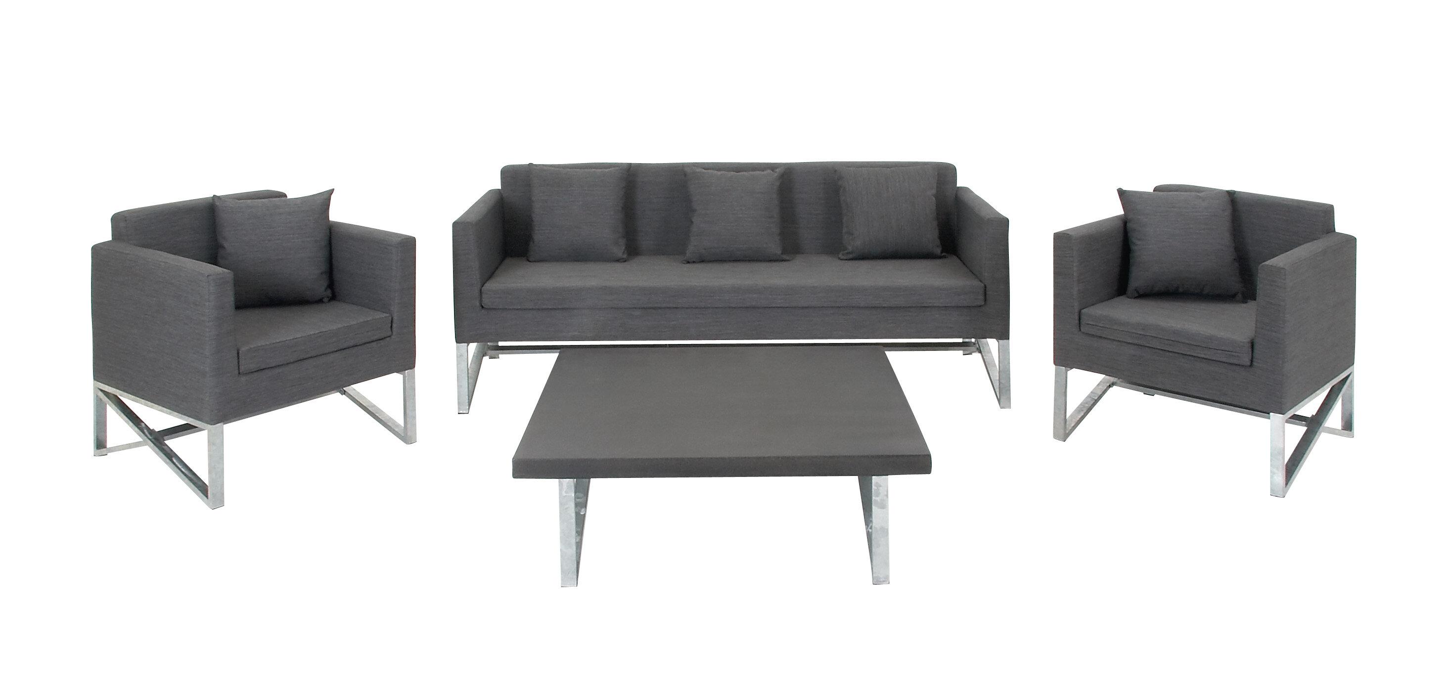 Hogle 4 Piece Living Room Set | Joss & Main