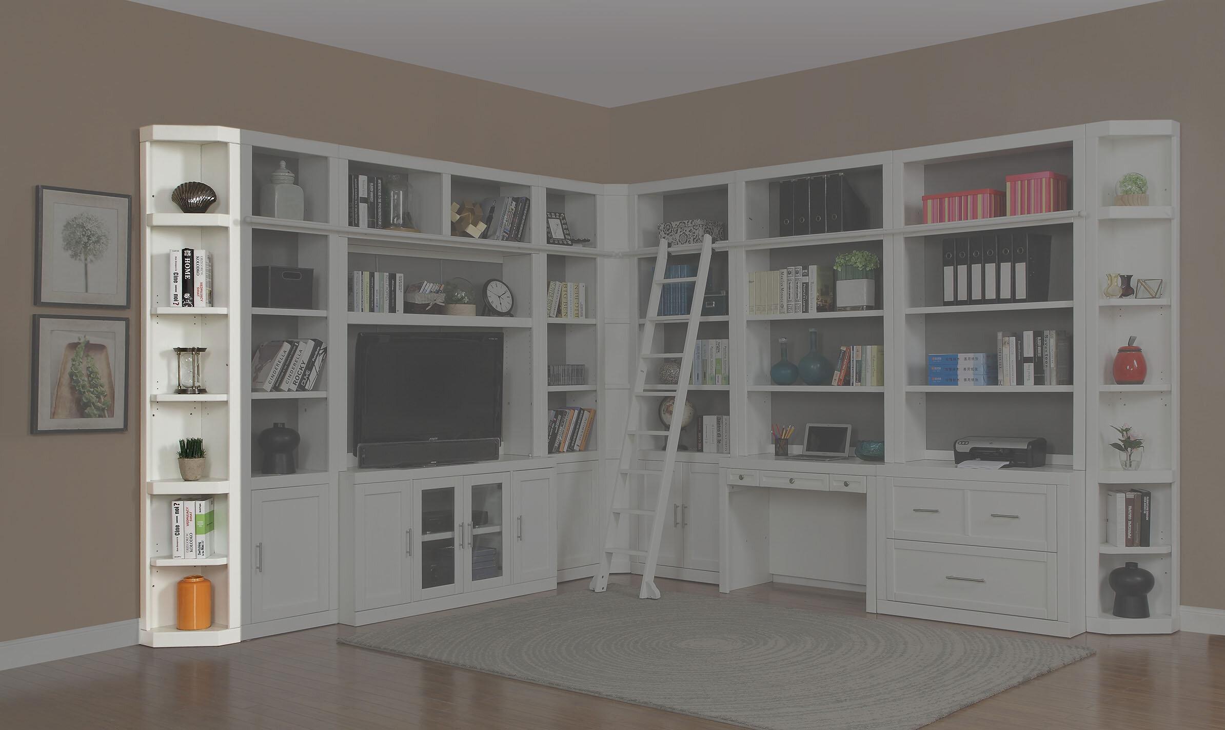 Rosecliff Heights Odonnell Standard Bookcase Wayfair