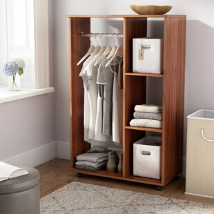 80cm Wide Clothes Storage System By 17 Stories