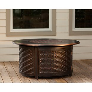 Fire Sense Florence Aluminum Propane Fire Pit Table