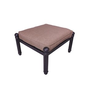 Baldwin Ottoman with Cushion by California Outdoor Designs