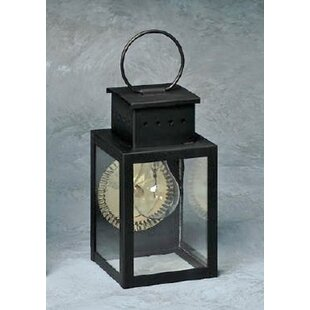 Order Wildes 1-Light Outdoor Wall Lantern By Breakwater Bay