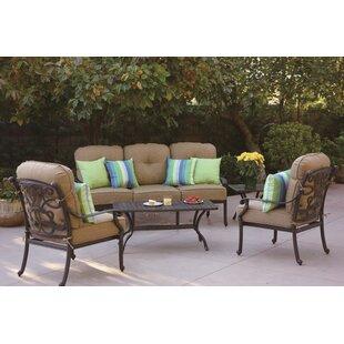 Calhoun 5 Piece Sofa Set with Cushions
