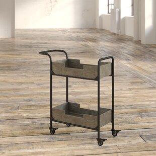 Myrtie Frame Bar Cart by Williston Forge