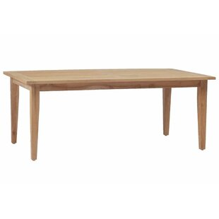 Croquet Teak Dining Table by Summer Classics