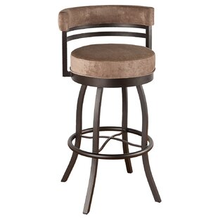 Hoy 30 Swivel Bar Stool Red Barrel Studio
