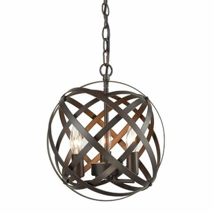 Mcinerney Cage 3-Light Globe Chandelier