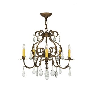 Meyda Tiffany Chantilly 5-Light Chandelier