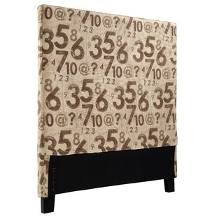 Winston Porter Gerzik Counting Twin Upholstered Panel Headboard