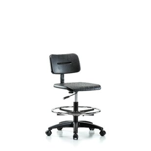 Purchase Industrial Mid-Back Drafting Chair by Perch Chairs & Stools Reviews (2019) & Buyer's Guide