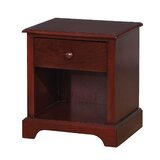 Augustin Wooden 1 Drawer Nightstand by Red Barrel Studio®