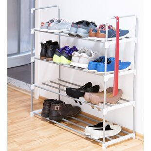 16 Pair Shoe Rack By Symple Stuff